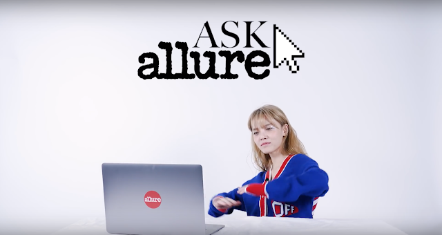 JIMIN explains her tattoo + Secrets! TMI Q&A | Allure Korea