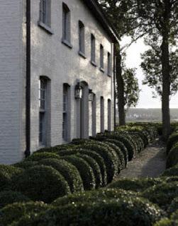 Garnier home, exterior facade, image via Garnier (be) website as seen on linenandlavender.net