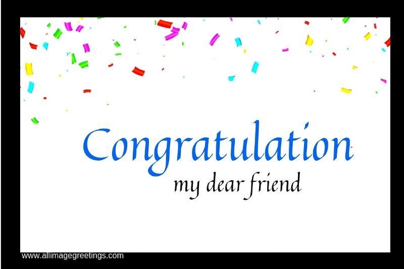 congratulations friend
