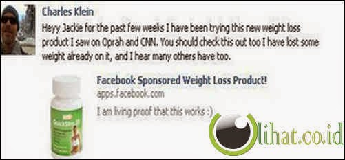 Yang Sering menawarkan Obat Diet