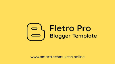 Fletro Pro Blogger Template (Pro, Amp, 3 Colum)
