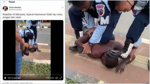 Usai Unggah Video Anggota TNI AU Injak Kepala Warga Papua, Akun Twitter Jurnalis <i>Jubi</i> Lenyap