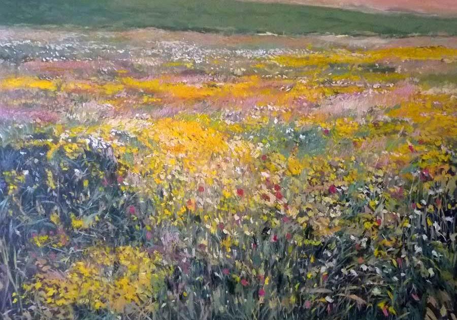 Imágenes Arte Pinturas Primavera En Andalucía Oleo Sobre Lienzo Rubén De Luis