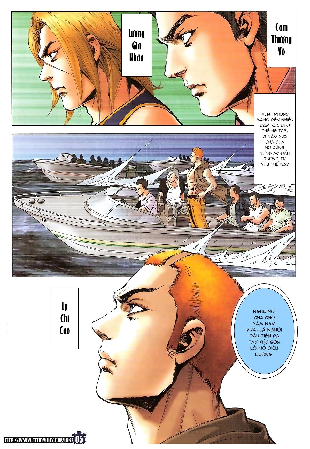 Người Trong Giang Hồ chapter 1829: khai chiến trang 3