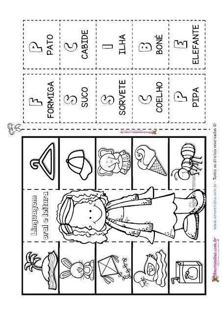 1º ano, Amorensina, Atividades com alfabeto, atividades com letras iniciais, Atividades de alfabetização 1 ano, atividades de alfabetização e alfabetização, pré 3,