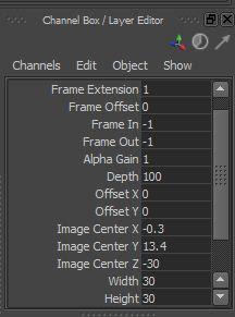 Animations, Maya tutorial, Technical Stuff