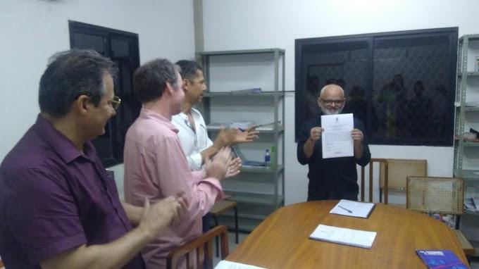 Com tema inovador e ousado o senadorsaense Genival Pontes apresenta TCC  com direito a aplausos da banca.
