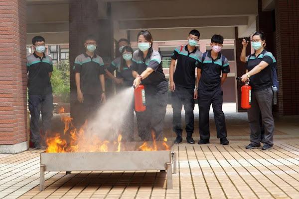 大葉大學與彰化縣消防局合作 協助消防安檢教育訓練