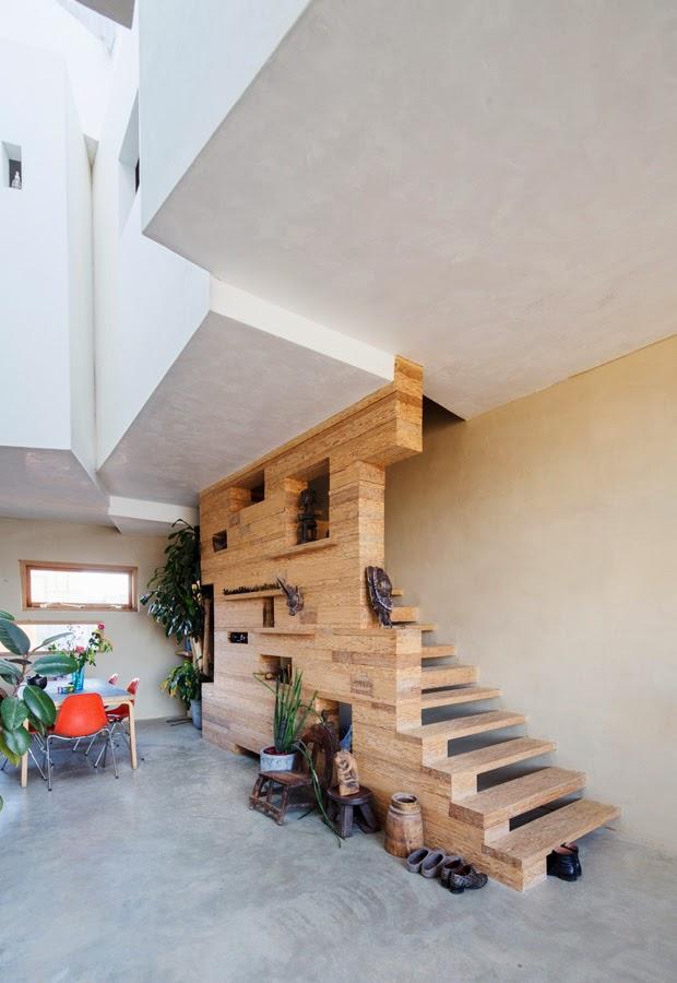 die wohngalerie treppenbau aus osb platten ein leichter selbermachen tipp f r h uslebauer. Black Bedroom Furniture Sets. Home Design Ideas