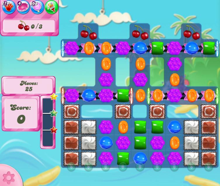Candy Crush Saga level 2689