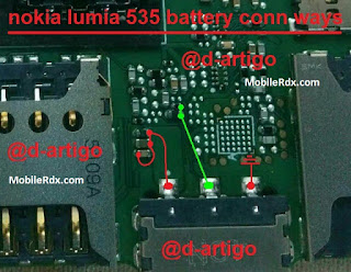 Nokia Lumia 535 Battery Connector Problem