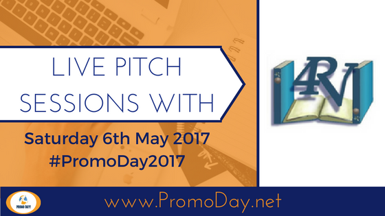 Publishers taking pitches during Promo Day 2017: 4RV Publishing #PromoDay2017
