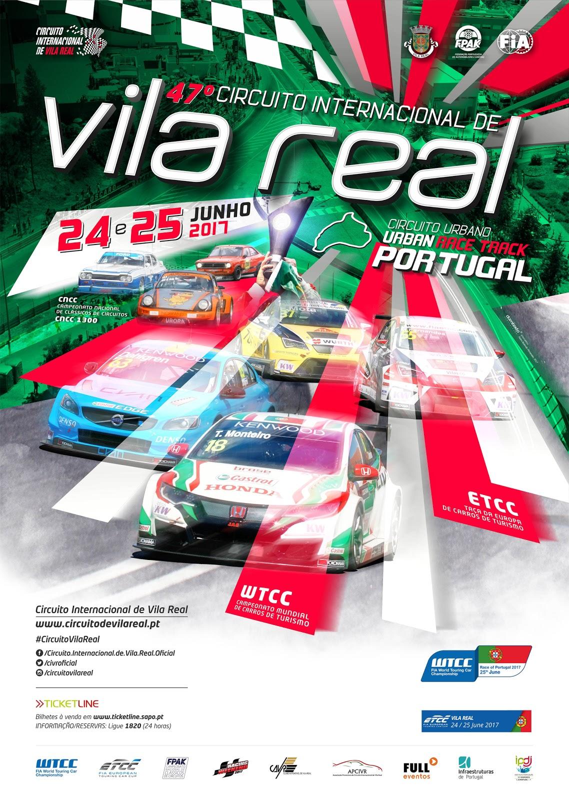 Circuito Vila Real : Anúncio do º circuito internacional de vila real tvi vila