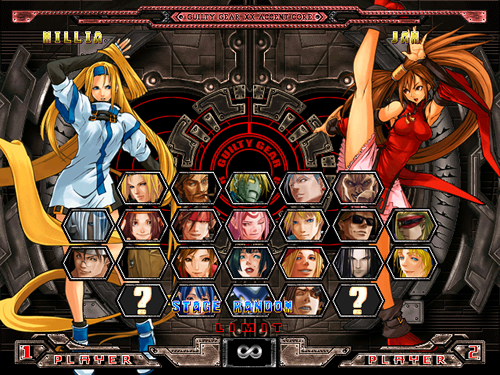 GUILTY GEAR X2 EVO MUGEN 2019