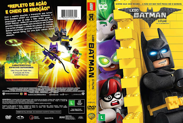 Capa DVD Lego Batman O Filme [Custom]