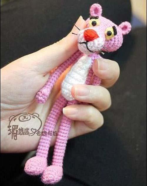 Pink Panther Amigurumi - Free Pattern