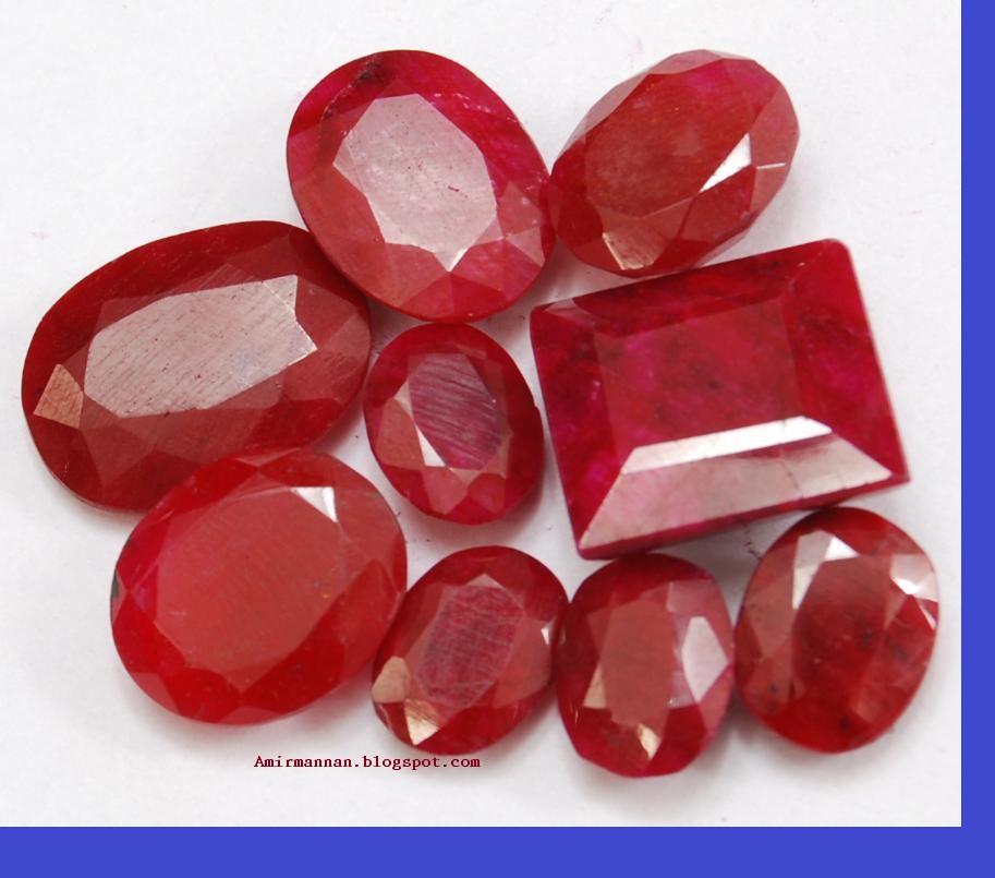 Yaqoot Ruby Gems Stone Fashion Jewellery