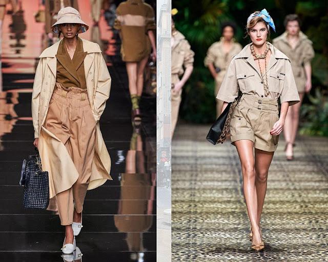 Тренды на неделе моды в Милане 3-1