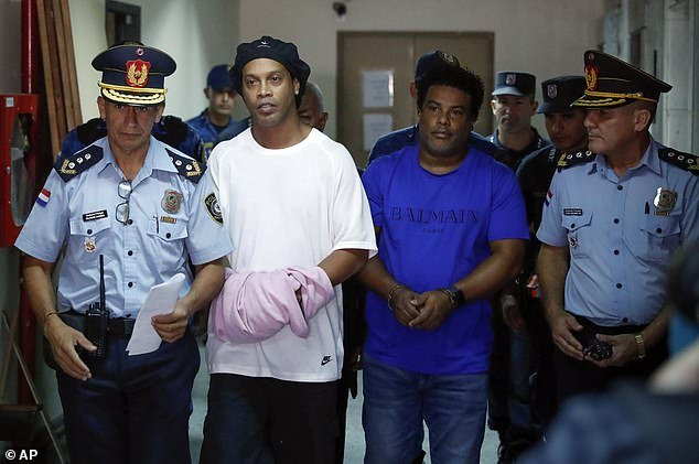 BREAKING NEWS! Ronaldinho Finally Released From Paraguayan Prison