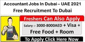 Accountant Jobs Recruitment in Chemicals Industry Dubai