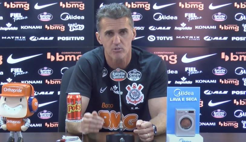Vagner Mancini apresentação Corinthians