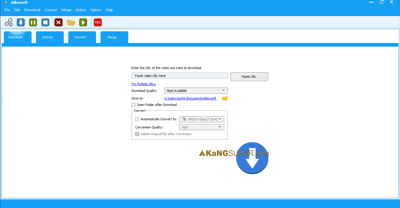 Download Allavsoft Video Downloader Converter Final Full Version Terbaru