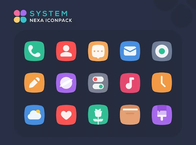 Nexa icon pack paid apk free download
