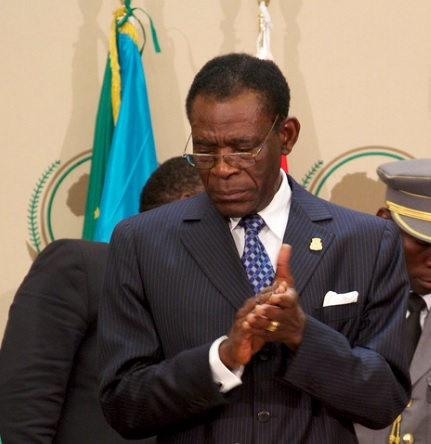 Teodoro Obiang Nguema, is Africa's longest serving leader, in power since 1979