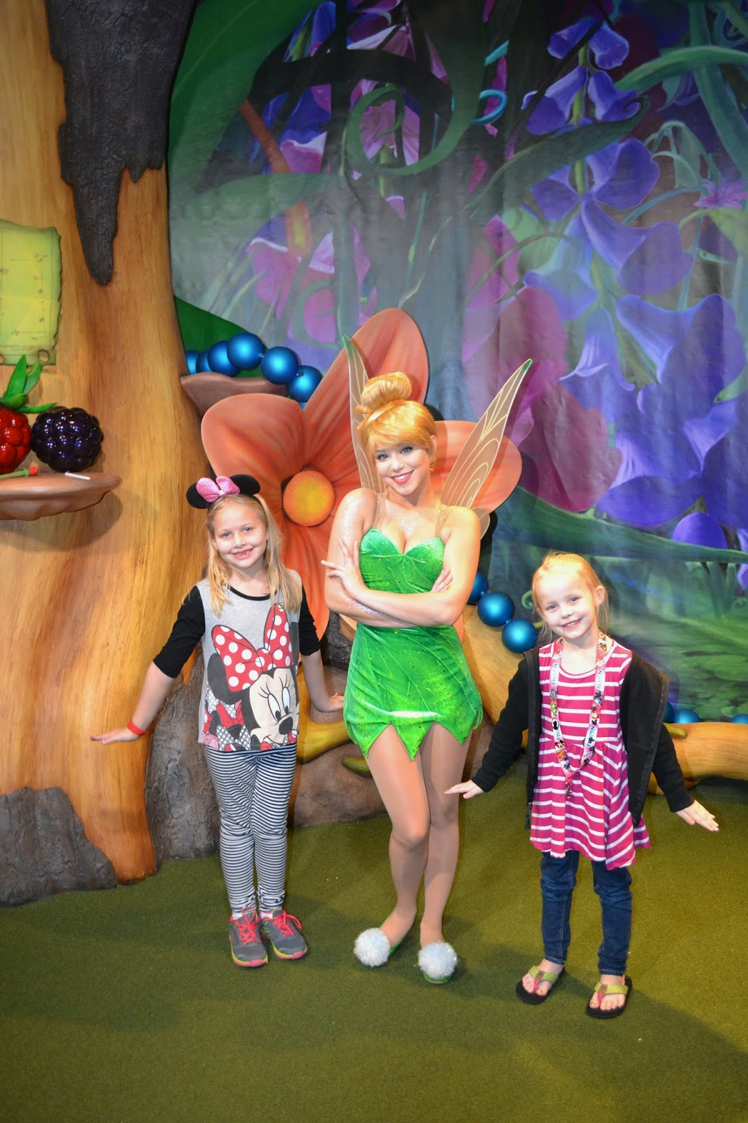 Meeting Tink at the Magic Kingdom