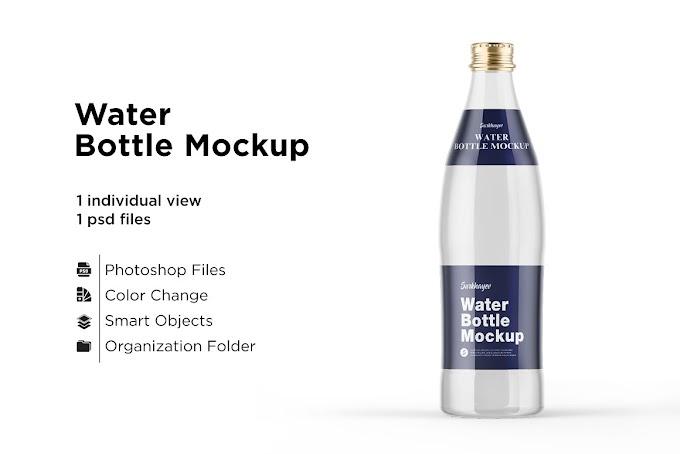 Water Bottle Mockup 5436753