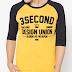 Nyamannya Membeli Kaos Pria di Online Store 3second.co.id
