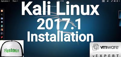 Kali Linux 2017.1 Installation