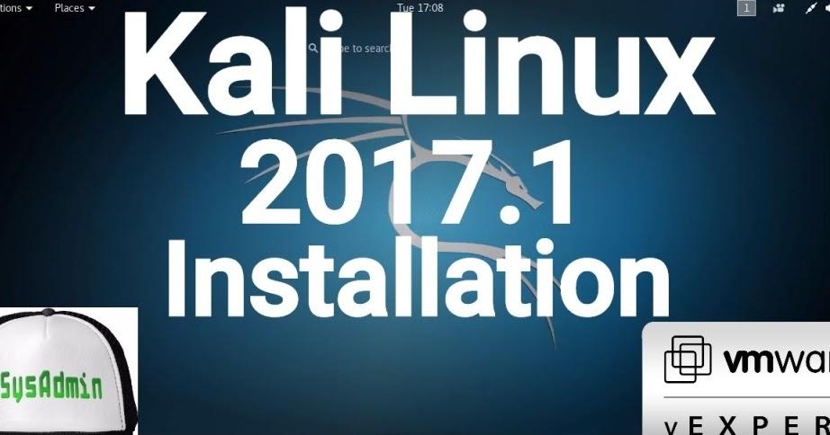 Kali Linux 2017.1 Installation on VMware Workstation