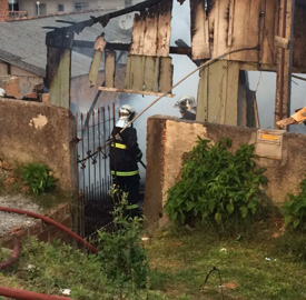Homem morre queimado enquanto dormia em Colombo