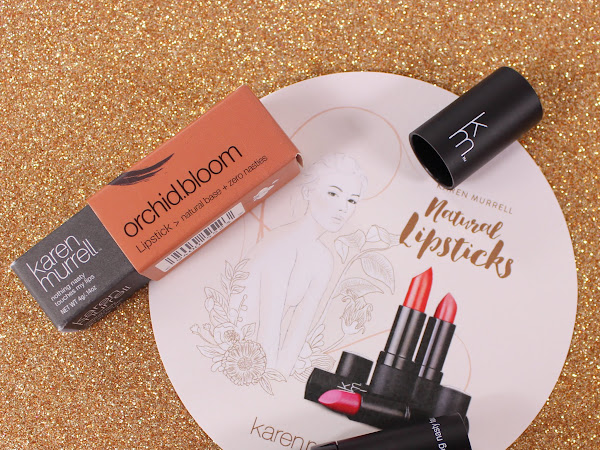 Karen Murrell - Peony Petal, Orchid Bloom and Lavender Laughter Lipstick Swatches & Review