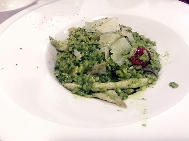 素 青醬野菇燉飯