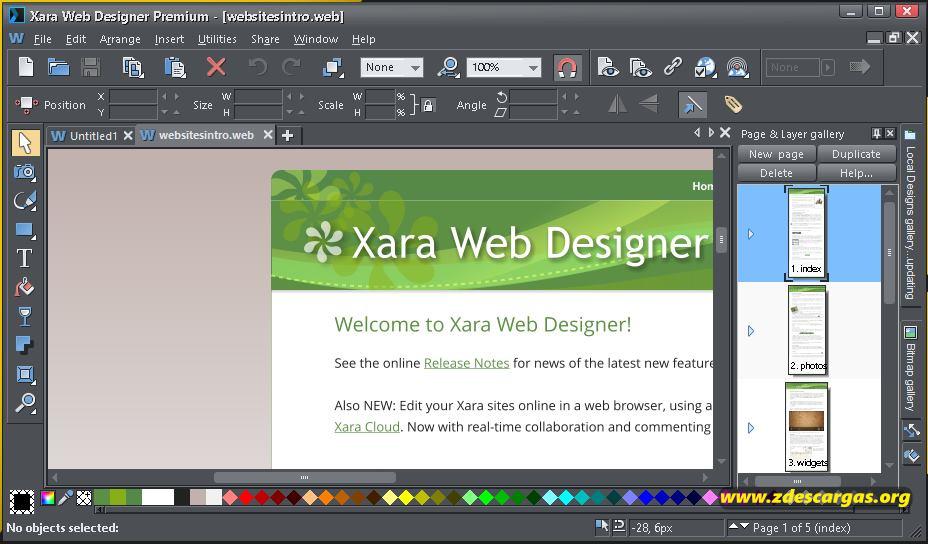 Xara Web Designer Premium Full Español