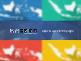 Channel Art YouTube Cover (Free PSD - Google Drive) - Responsive Blogger Template