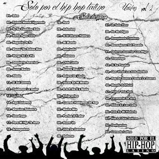 contra portada de solo por el hip hop latino
