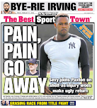 Bad news wins the Yankees a back page