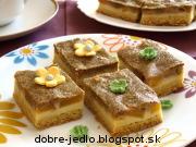Broskyňový koláč s ricottou - recept