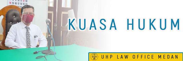 Kuasa hukum di Medan
