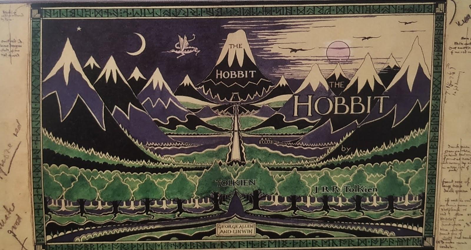 Leyendo en el bus: El Hobbit anotado de J. R. R. Tolkien
