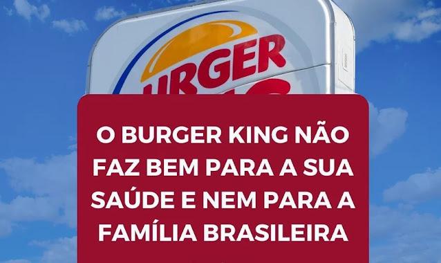 """""""Ideologia antifamília"""": Burger King usa crianças em campanha LGBT e tem onda de críticas"""