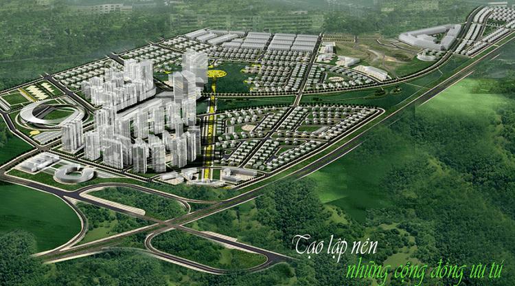 Tổng quan khu đô thị Phúc Ninh, TP Bắc Ninh, tỉnh Bắc Ninh