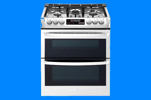 LG LTG4715 30 Inch Slide-in Double Oven
