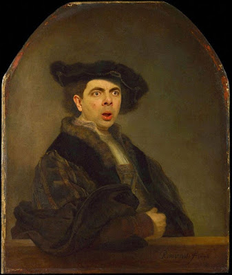 Mr Bean dalam Lukisan Klasik