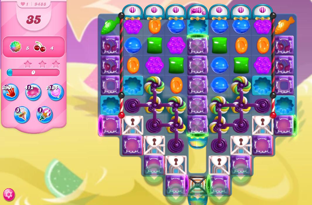 Candy Crush Saga level 9488