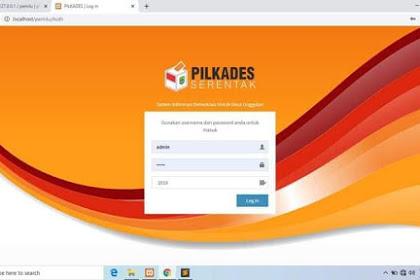 Download aplikasi Pilkades (Pemilihan Kepala Desa) Berbasis web