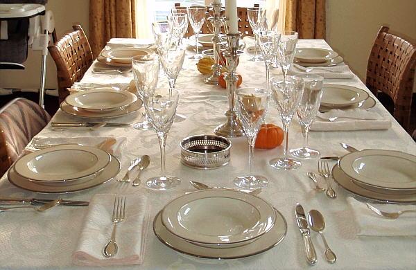 El blog de la elena un blog dulce divertido y - Protocolo cubiertos mesa ...